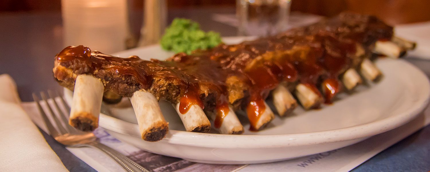 BBQ ribs - Castle Hill Supper Club - restaurant and banquet facility