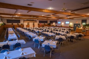 Castle Hill's large banquet facilities can handle your large gathering!