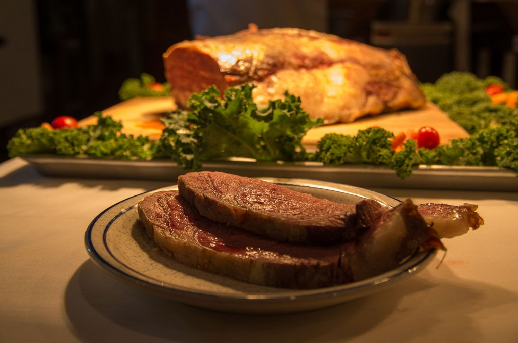 Juicy Prime Rib at Castle Hill