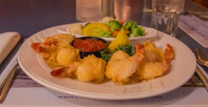 fried shrimp dinner - Castle Hill Supper Club - restaurant and banquet facility
